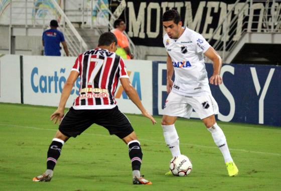 Série B 2017, 23ª rodada: ABC 0 x 0 Santa Cruz. Foto: Andrei Torres/ABC FC