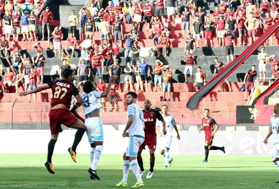 Série A 2017, 23ª rodada: Sport 0 x 1 Avaí. Foto: Roberto Ramos/DP