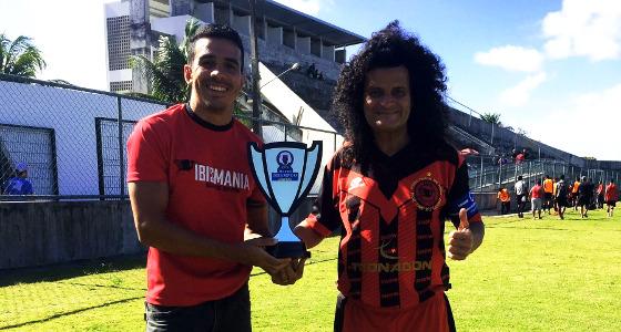 Taça Mauro Shampoo 2017: Íbis 0 x 0 Ipojuca. Foto: Nilsinho Filho/Íbis (@ibismania)