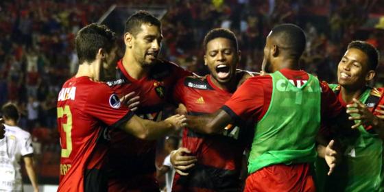 Copa Sul-Americana 2017, oitavas: Sport 3 x 1 Ponte Preta. Foto: Williams Aguiar/Sport Club do Recife