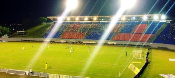 Série B 2017, 25ª rodada: Londrina 1 x 1 Santa Cruz. Foto: Goleada Info/twitter