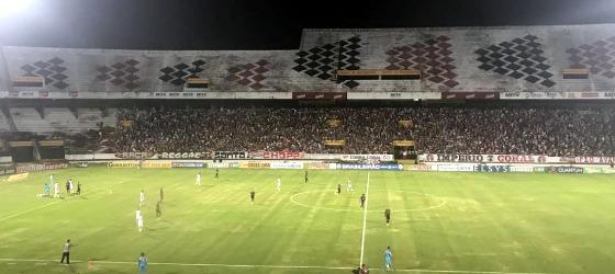 Série B 2017, 26ª rodada: Santa Cruz 0x0 Ceará. Foto: Rafael Brasileiro/DP