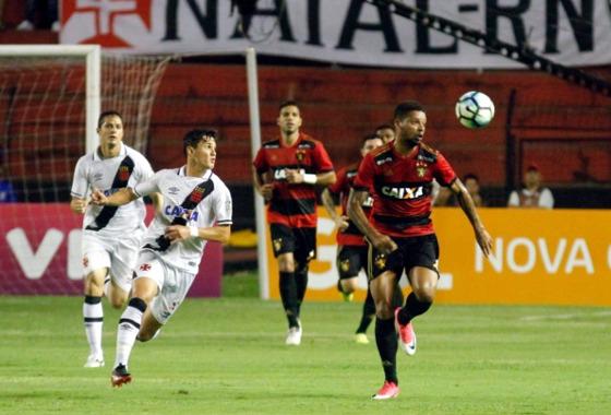 Série A 2017, 25ª rodada: Sport 1 x 1 Vasco. Foto: Ricardo Fernandes/DP