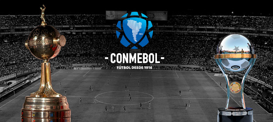 Taça Libertadores e Copa Sul-Americana; Crédito: Conmebol/site oficial
