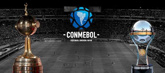Taça Libertadores e Copa Sul-Americana; Crédito: Conmebol/site oficial