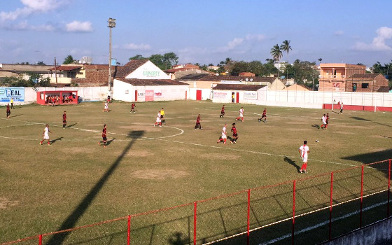 Pernambucano Série A2 de 2017, 1ª fase: Centro Limoeirense 0 x 1 Íbis. Foto: Íbis/twitter (@ibismania)