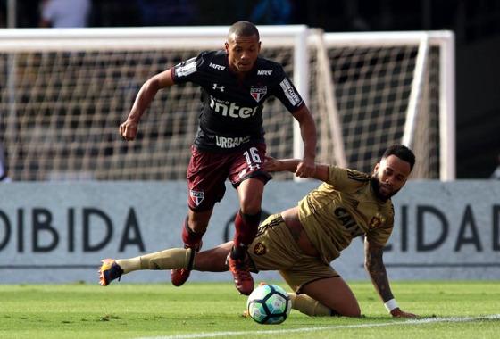 Série A 2017, 26ª rodada: São Paulo 1 x 0 Sport. Foto: Rubens Chiri/saopaulofc.net