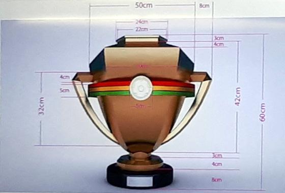 O troféu do Campeonato Pernambucano de 2018. Foto: João de Andrade Neto/DP
