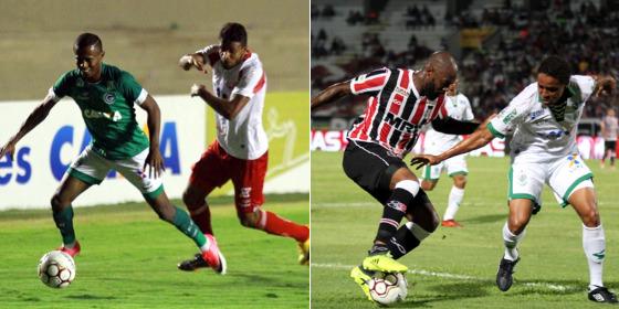 Série B 2017, 28ª rodada: Goiás 2 x 0 Náutico (Goiás/facebook) e Santa Cruz 0 x 1 América Mineiro (Santa Cruz/site oficial)