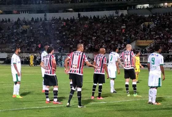 Série B 2017, 28ª rodada: Santa Cruz 0 x 1 América-MG. Foto: Daniel Hott/América
