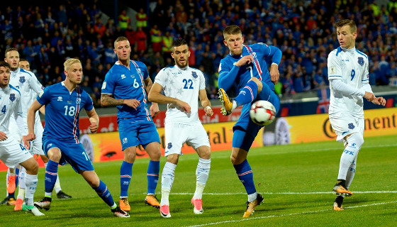 Islândia vence o Kosovo e se classifica para a Copa do Mundo de 2018. Foto: Fifa/site oficial