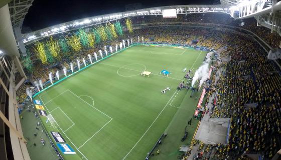 Eliminatórias da Copa 2018, em 10/10/2017: Brasil 3 x 0 Chile. Foto: divulgação