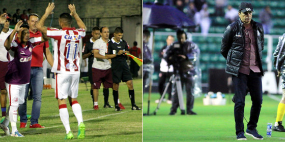 Série B 2017, 29ª rodada: Náutico 2 x 0 Guarani (Léo Lemos/Náutico) e Figueirense 2 x 1 Santa Cruz (Luiz Henrique/Figueirense)