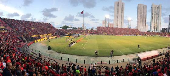 Série A 2017, 28ª rodada: Sport 1 x 1 Atlético-MG. Foto: Aníbal Monteiro/cortesia (@profanibal)