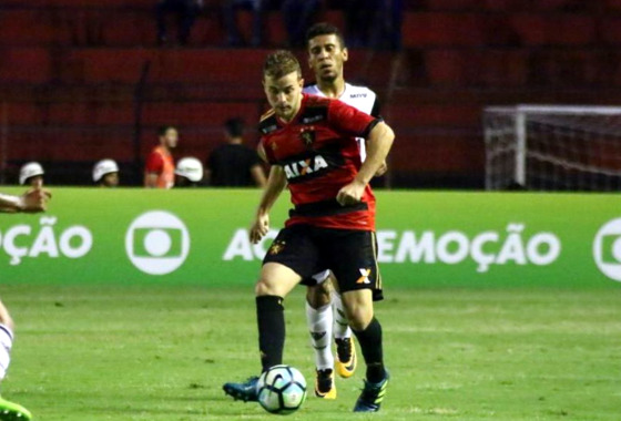 Série A 2017, 28ª rodada: Sport 1 x 1 Atlético-MG. Foto: Williams Aguiar/ Sport Club do Recife