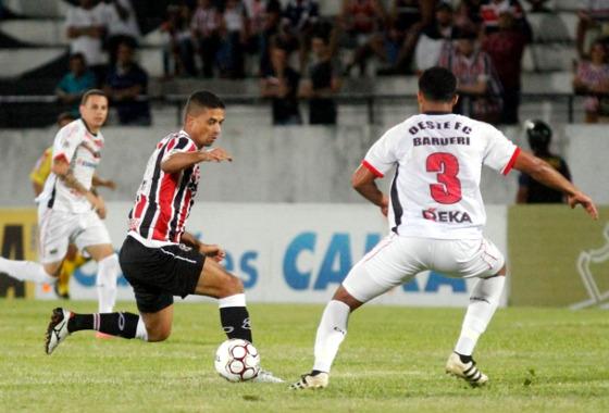 Série B 2017, 30ª rodada: Santa Cruz x Oeste. Foto: Ricardo Fernandes/DP