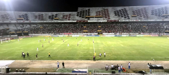 Série B 2017, 30ª rodada: Santa Cruz x Oeste. Foto: Rafael Brasileiro/DP
