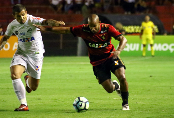 Série A 2017, 29ª rodada: Sport 1 x 1 Santos. Foto: Willliams Aguiar/Sport Club do Recife