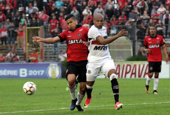 Série B 2017, 31ª rodada: Brasil de Pelotas 1 x 1 Santa Cruz. Foto: Carlos Insaurriaga/G.E. Brasil