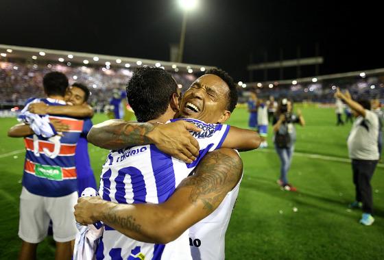 Final da Série C 2017: CSA 0 x 0 Fortaleza. CSA campeão! Foto: Lucas Figueiredo/CBF