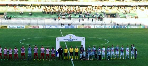 Série B 2017, 32ª rodada: Juventude 0 x 0 Náutico. Foto: Goleada Info/twitter (@goleada_info)