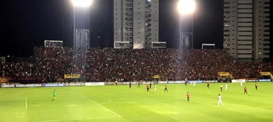Sul-Americana 2017, quartas de final: Sport 0 x 2 Junior Barranquilla. Foto: Aníbal Monteiro/cortesia