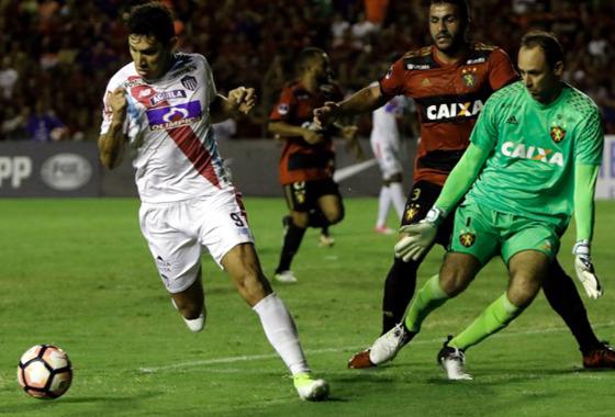 Sul-Americana 2017, quartas de final: Sport 0 x 2 Junior Barranquilla. Foto: Conmebol/site oficial