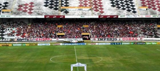 Série B 2017, 32ª rodada: Santa Cruz 0 x 0 Luverdense. Foto: Filipe Assis/DP