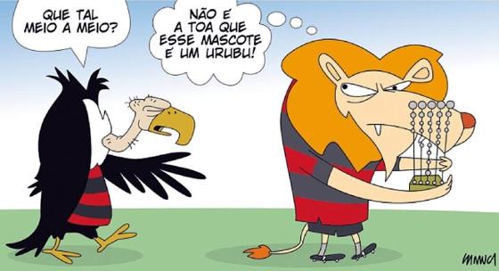 Charge publicada no Diario de Pernambuco em 20/10/2017. Arte: Samuca/DP