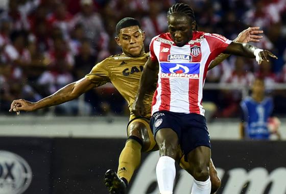 Sul-Americana 2017, quartas de final: Junior Barranquilla 0 x 0 Sport. Foto: Conmebol/twitter (@conmebol)