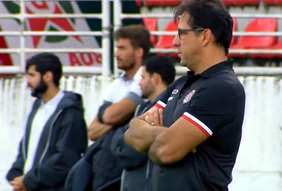 Série B 2017, 35ª rodada: Boa Esporte 4 x 2 Santa Cruz. Crédito: Premiere/reprodução