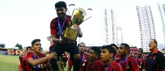 Sport campeão pernambucano juvenil (Sub 17) de 2017. Foto: Williams Aguiar/Sport Club do Recife