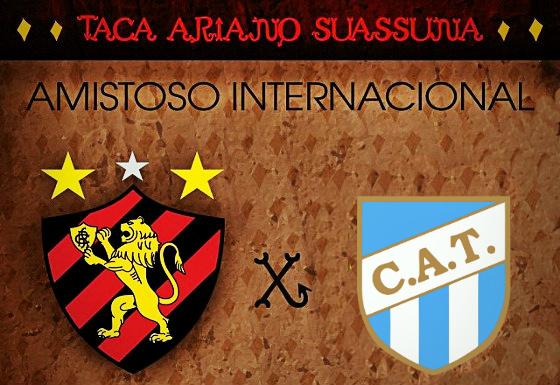 Sport x Atlético Tucumán, da Argentina, o duelo pela Taça Ariano Suassuna de 2018