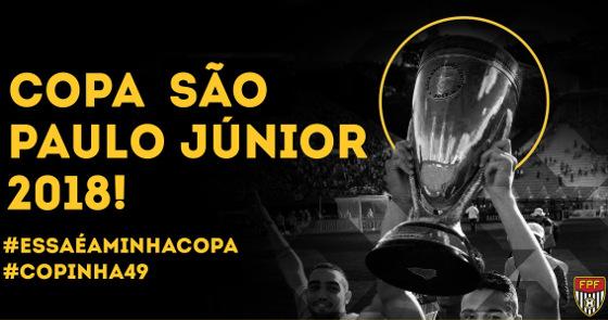 A Copa São Paulo de Futebol Júnior de 2018. Crédito: FPF