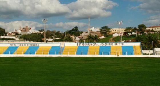 Estádio Joaquim de Brito, Pesqueira (08/08/2017). Crédito: Gilmar Farias/divulgação