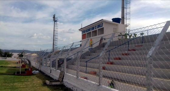 Estádio Valdemar Viana, Afogados da Ingazeira (20/12/2017). Crédito: Afogados/divulgação