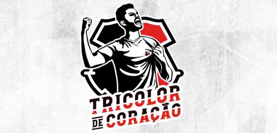 """Campanha de sócios do Santa Cruz em 2018, o """"Tricolor de Coração"""". Crédito: TV Coral/reprodução"""