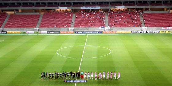 Copa do Nordeste 2018, 1ª rodada: Náutico x Altos. Foto: Ricardo Fernandes/DP