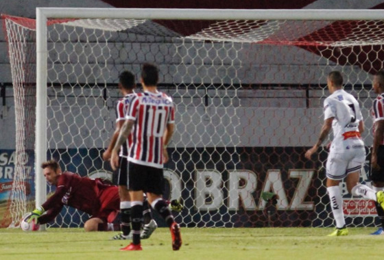 Pernambucano 2018, 3ª rodada: Santa Cruz 1 x 1 Central. Foto: Ricardo Fernandes/DP