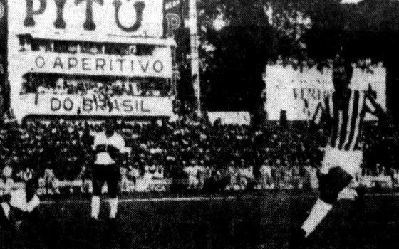 Pernambucano 1970: Náutico 1 x 0 Santa Cruz. Foto: Arquivo/DP