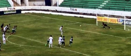 Pernambucano 2018, 4ª rodada: América x Afogados. Crédito: FPF/mycujoo.tv (reprodução)