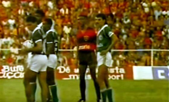 Série A 1987, final: Sport 1 x 0 Guarani. Crédito: TV Jornal/youtube (reprodução)