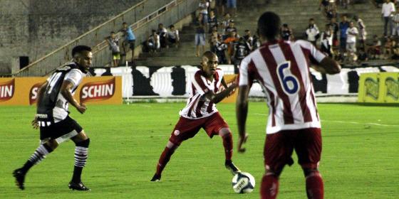 Nordestão 2018, 2ª rodada: Botafogo-PB 2 x 1 Náutico. Foto: Léo Lemos/Náutico
