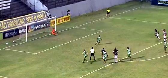 Pernambucano 2018, 7ª rodada: Central 2 x 0 Belo Jardim. Crédito: TV Asa Branca/Globo (reprodução)