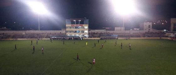Pernambucano 2018, 7ª rodada: Salgueiro x Flamengo de Arcoverde. Foto: Carcará Net/twitter (@CarcaraNet)