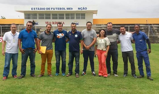 Campo do estádio Mendonção em 16/02/2018. Foto: Belo Jardim/instagram (@belojardim.fc)