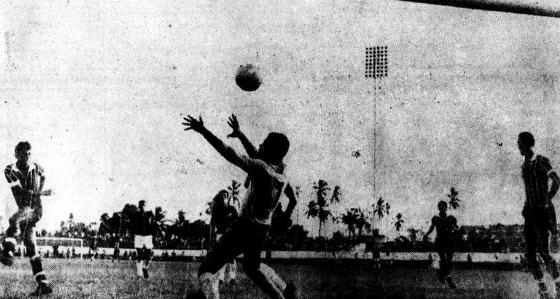 Pernambucano 1969, 1º turno: Santa Cruz 15 x 2 Santo Amaro. Foto: Arquivo/Diario de Pernambuco
