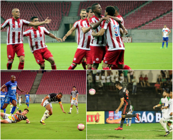 Pernambucano 2018, 8ª rodada: Náutico 2 x 1 Afogados (Léo Lemos/Náutico), Vitória 1 x 0 Central (Luciano Abreu/Vitória) e Belo Jardim 0 x 0 Sport (Anderson Freire/Sport)