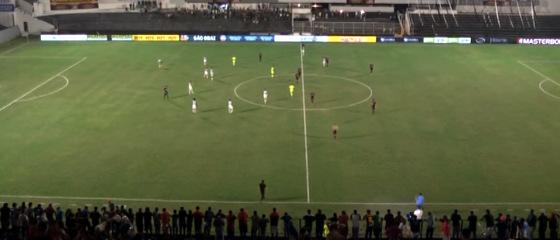 Pernambucano 2018, 8ª rodada: Belo Jardim 0 x 0 Sport. Crédito: TV Criativa/youtube (reprodução)