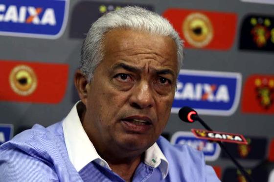 Guilherme Beltrão, vice-presidente de futebol do Sport em 2018. Foto: Williams Aguiar/Sport Club do Recife